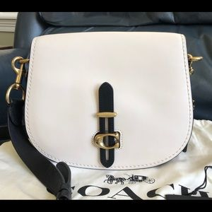 Coach Saddle Bag in Colorblock